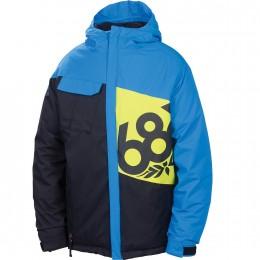 686 BOYS MANNUAL ICONIC INS JACKET L2W502 Farbe: BLUE Größe: XL 2013
