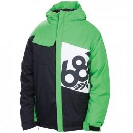 "686 Jungen Snowboardjacke ""Mannual Iconic Ins Jacket"" (L2W502) Farbe: Grass"