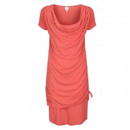 """Bench Damen Jerseykleid """"Rusper"""" (BLSA1435-M1033) Farbe: Orange"""