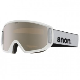 "Anon Herren Snowboardbrille ""Relapse"" Goggle (13228100106) Farbe: White/ Silver Amber"