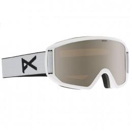 """Anon Herren Snowboardbrille """"Relapse"""" Goggle (13228100106) Farbe: White/ Silver Amber Bild 2"""